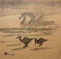 Bernard Howell Leach バーナード・リーチ (1871-1979).