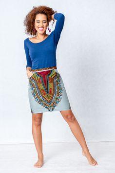 Pencil skirt from Gambia - Addis Abeba from KOKOworld by DaWanda.com