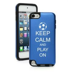 Apple iPod Touch 5th Generation Blue BP476 Aluminum & Silicone Hard Case Cover Keep Calm and Play On Soccer MIP http://www.amazon.com/dp/B00EKO7CJ4/ref=cm_sw_r_pi_dp_VWLQtb1ZJVC2BZN3
