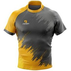 Rugby Shirts full sublimation print produced by Scorpion Sports in the UK within 2 weeks. Sport Shirt Design, Sport T Shirt, Tee Design, Team Shirts, Rugby Shirts, Football Shirts, Rugby Jerseys, Custom T Shirt Printing, Printed Shirts