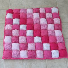 Baby Puff Quilt by beautifuleverytime on Etsy, $114.99