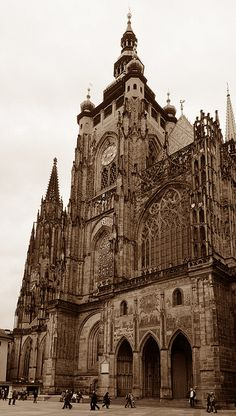 St Vitus Cathedral by ngari.norway, via Flickr