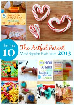 The Artful Parent Top 10 Most Popular Posts from 2013
