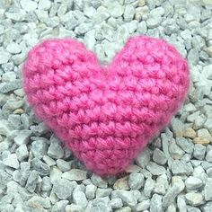 "Picture of 3D ""Puffy"" Crochet Heart"