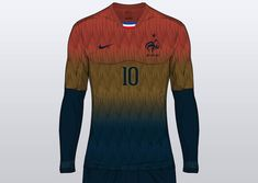 Modern France Euro 2016 Concept Kits by Franco - Footy Headlines
