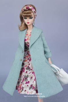 vestido vintage con jack Silkstone Barbie moda muñeca SL de Sanglian en Etsy https://www.etsy.com/es/listing/229852111/vestido-vintage-con-jack-silkstone