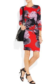 Jonathan Saunders | Floral-print jersey mini dress