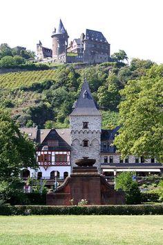 Burg Stahleck - Bacharach, Germany