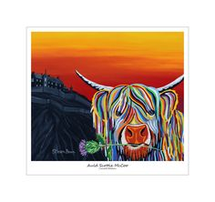 Auld Scottie McCoo - Limited Edition Print or Framed - Steven Brown Art -