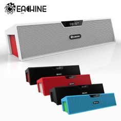 Bluetooth2.1 Bar Speaker LCD Time Display Alarm Clock FM TF Mic From 39,95 for Euro 27,60