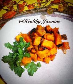 Roasted Yams With Citrus Salsa Recipe — Dishmaps