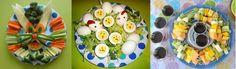De l'inspiration pour un buffet sous le thème de Pâques.