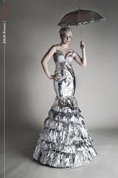 Tin Foil Gown