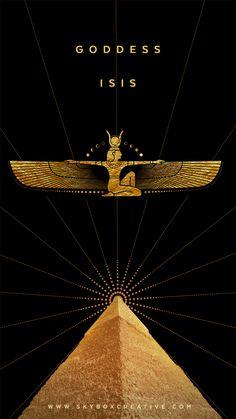 Egyptian Mythology, Egyptian Symbols, Egyptian Art, Egyptian Hieroglyphs, Isis Goddess, Egyptian Goddess, Goddess Isis Tattoo, Madara Wallpapers, Ancient Egypt