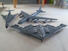 LEGO USAF's strategic bomber fleet by Kenneth Vaessen and Ralph Savelsberg