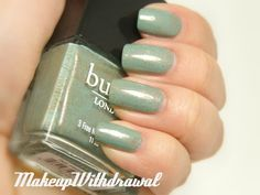Makeup Withdrawal: butter London Two Fingered Salute