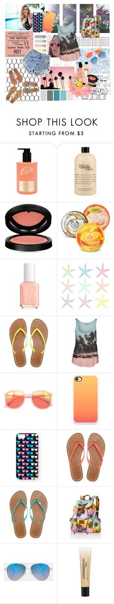 """so funny.."" by tille-1 ❤ liked on Polyvore featuring MOR Cosmetics, philosophy, Giorgio Armani, The Body Shop, Essie, Runwaydreamz, American Eagle Outfitters, Billabong, Wildfox and Forever 21"