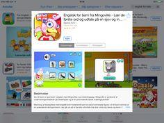 App med udtale og ord