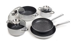 StonelineNonstick Stone Cookware - Classic 8-Piece Set -- Check out this great product.