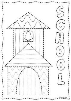 TRACING AND PINNING WORKSHEETS - ALL YEAR ROUND - TeachersPayTeachers.com