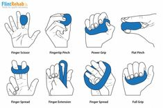 Effective hand therapy putty exercises + free pdf the occupational therapy toolkit includes of patient education handouts to enhance your practice and share with your patients Sight Words, Therapy Putty, Finger Exercises, Stretching Exercises, Physical Therapy Exercises, Physical Education Games, Health Education, Early Education, Physical Activities