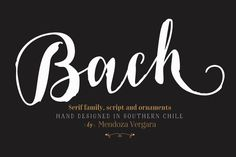 Bach Complete Family - 75% off! by@Graphicsauthor