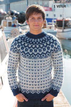 Icelandic Wool Sweater - Knitting Kit