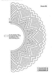 Image result for bobbin lace fan pattern Rainbow Loom Charms, Bracelets Rainbow Loom, Bobbin Lace Patterns, Bead Loom Patterns, Stitch Patterns, Hairpin Lace Crochet, Crochet Motif, Crochet Edgings, Crochet Shawl