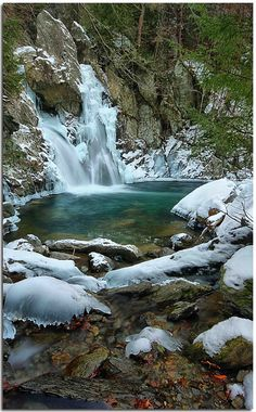 Bash Bish Falls in the berkshires! Can't wait to move to the berkshires!