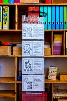 Lernstübchen: wohin mit all den Arbeitsblättern für die Planarbeit