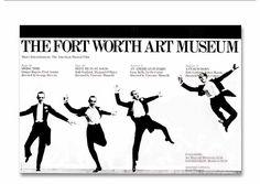 Fort Worth Art Museum Graphic Program (1976)