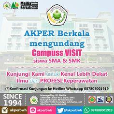 Welcome Campuss #karir #perawat #akademi #keperawatan #akperberkala #akperbwh #akper #penerimaan #pendaftaran #kampus #kuliah #mahasiswa #perguruantinggi #pts #jalurmandiri #rsmeilia #cibubur #depok #cileungsi #bekasi #bogor #tangerang #jakarta #indonesia