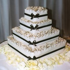 We Will Have Black And Gold Cakesa Brides Cake And A Grooms Cake - Formal birthday cakes