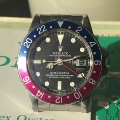Or This? Stuck in the '60's with this honest Vintage Rolex GMT 1675. Full set…