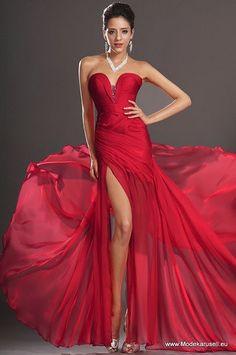 7930b284e2eea Mode Neu günstiges Abendkleid Red Formal Gown, Formal Dresses, Sweetheart  Prom Dress, Chiffon