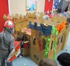 Princess birthday castle