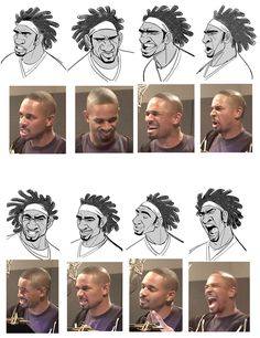 Emotion reference for animation