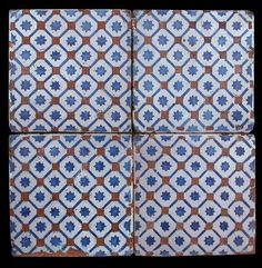 4 sicilian tiles