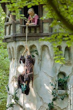 Rapunzel, the Efteling