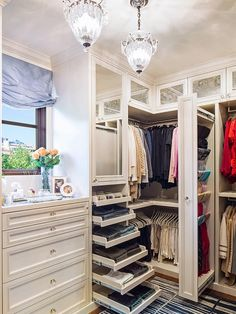 dressing room closet design ideas with window seat | Ideas For Designing Your Closet and Storage Spaces