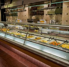 The gastronomic experience begins the very moment you enter the shop, and – captivated by the perfumes – you get lost among the departments. Deli Shop, Restaurant, Shopping, Catering, Twist Restaurant, Diner Restaurant, Restaurants, Dining Rooms