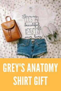 It's A Beautiful Day To Save Lives Grey's Anatomy Shirt, greys anatomy gifts greys anatomy gifts Best Friends greys anatomy gifts DIY greys anatomy gifts My Person greys anatomy gifts Products greys anatom. Greys Anatomy Tshirts, Greys Anatomy Gifts, Diy Gift For Bff, Diy Gifts, Friend Canvas, Bff Shirts, Diy Fashion Accessories, Best Friends Forever, Black Kids