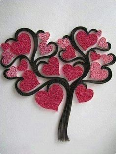 Do All Sorts of Fun with Paper Quilling and Quilling Art Trees? Items similar to handmadeItems similar to handmade Handmade Items similar(Notitle) Do All Sorts of Fun with Paper Quilling and Quilling Art Trees? Arte Quilling, Paper Quilling Designs, Quilling Paper Craft, Quilling Patterns, Paper Crafts, Quilling Ideas, Diy Paper, Valentine Day Crafts, Valentines