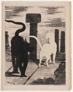 The Cats' Rendezvous Le Rendez-vous des Chats 1868 Edouard Manet (French, 1832–1883)| Museum of Fine Arts, Boston