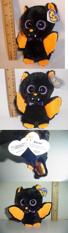 5e3de231f12 Other Ty Beanbag Plush 1037  Rare Retired Ty Beanie Baby Boos Baron The  Black Bat