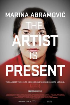 Kino, Filme, Serien / Marina Abramovic: The Artist Is Present Michael Moore, Hieronymus Bosch, Back To Black, Moma, Richard Burlet, Neo Rauch, Marina Abramovic, Netflix Documentaries, John Cage
