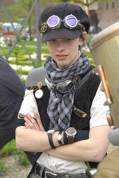 http://www.flickr.com/search/?q=steampunk