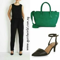 #tgif #jumpsuit size 10 #9000 #handbag #8000 #shoes size 39 #9500 www.questworld.com.ng Nationwide HOME delivery. Pay on delivery in Lagos