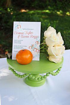 beautiful backyard wedding ideas....  center pieces, dessert display, etc..