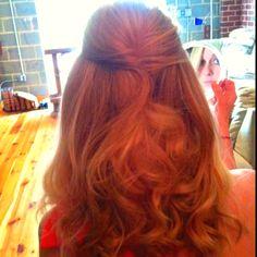 Wedding hair by Lauren Bernstein